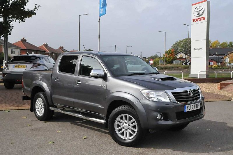 6bf1007b3c5f3b Toyota Hilux 3.0D-4D Invincible Double Cab Pickup Used vehicle